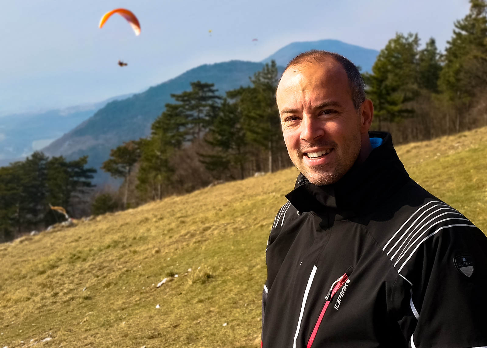 Paragliding enthusiast from Nova Gorica