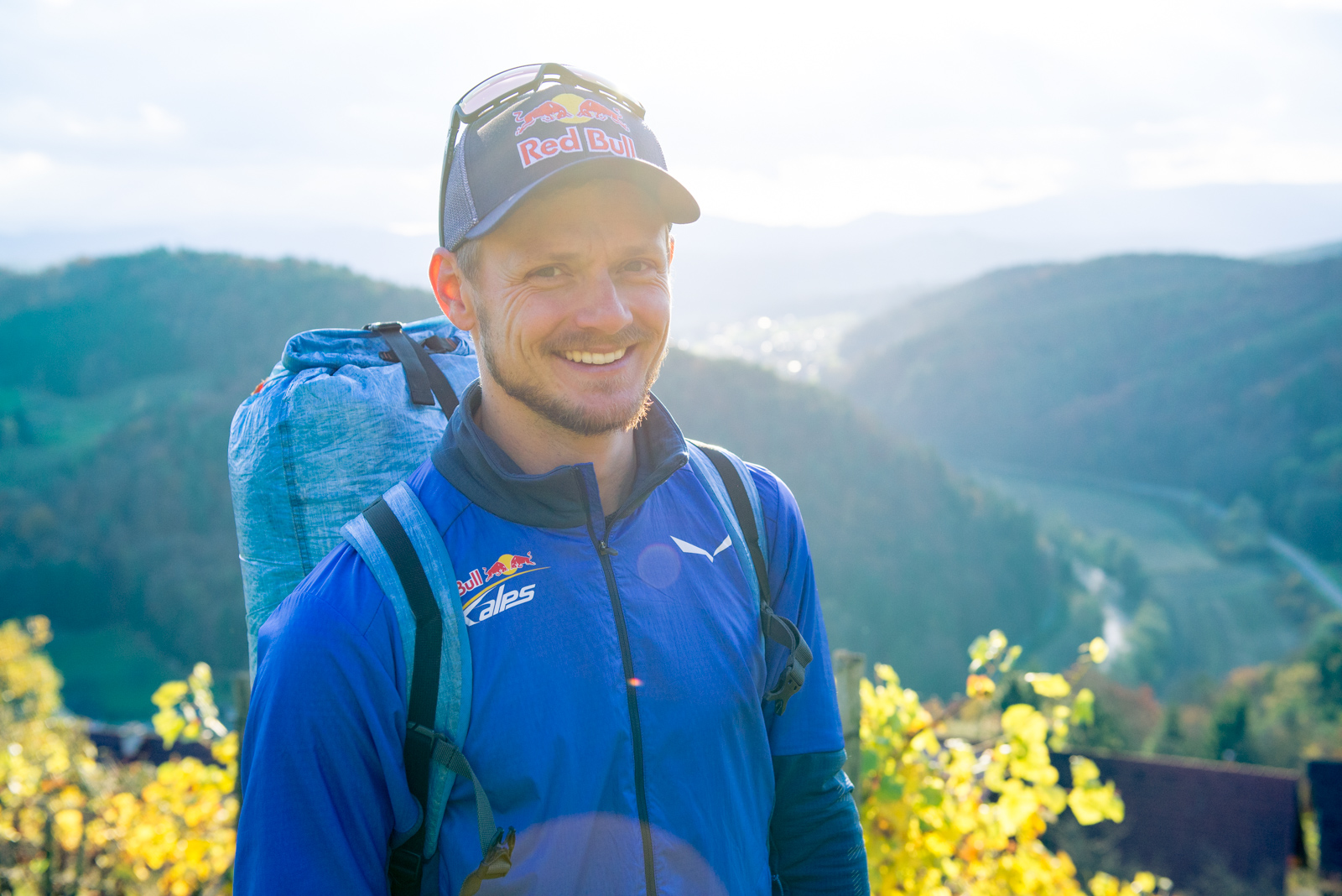 Paragliding pro and Red Bull Xalps Athlete Paul Guschlbauer