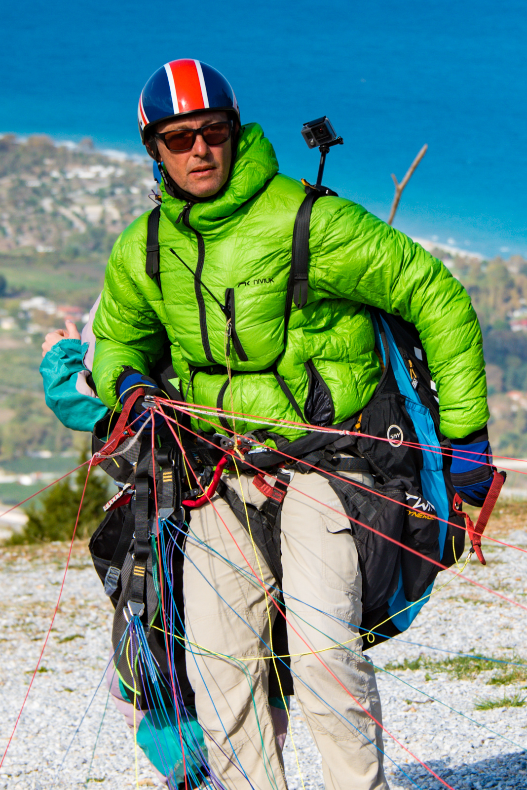 Paragliding Instructor from Mount Olympus.